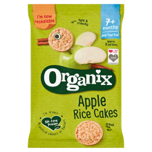 Organic Baby Rice Cakes - Apple