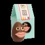 Organic Mrs Lips Funny Face Easter Egg - milk