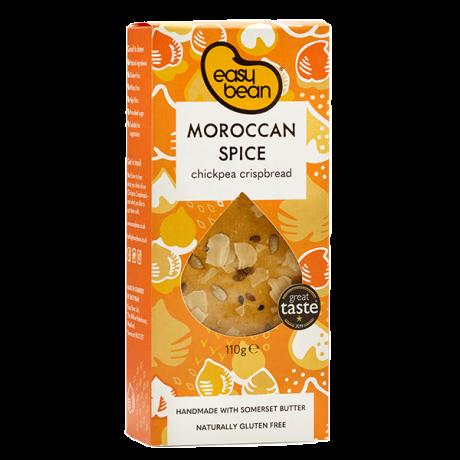 Moroccan Spice Chickpea Crispbread