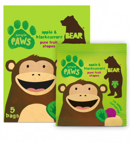 Jungle Paws - apple & blackcurrant