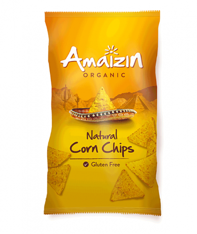 Organic Extra Large Natural Corn Chips