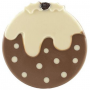 Organic Milk & White Choc Christmas Pudding - half price whi