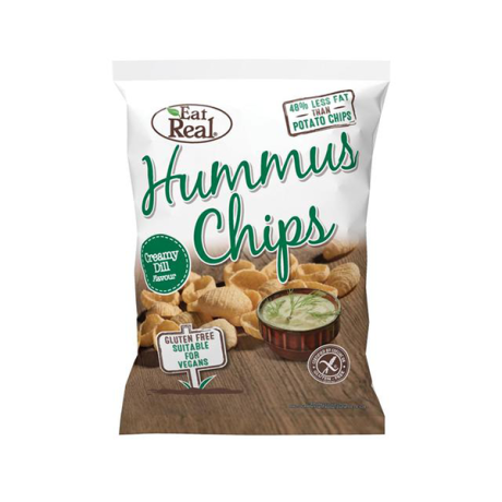 Creamy Dill Hummus Chips - large