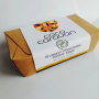Organic Caramel filled eggs 8 in a box