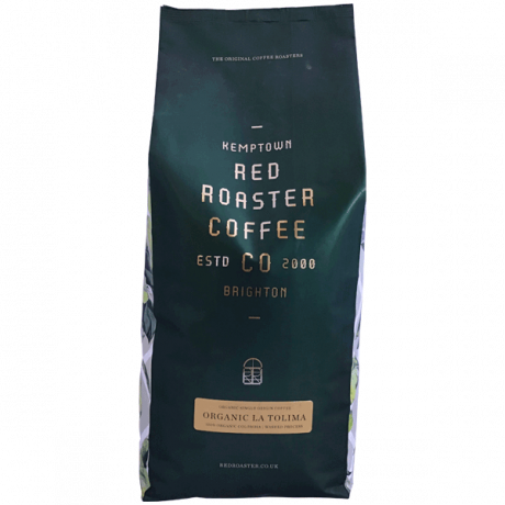 Organic Colombian Single Origin - bag wholebean