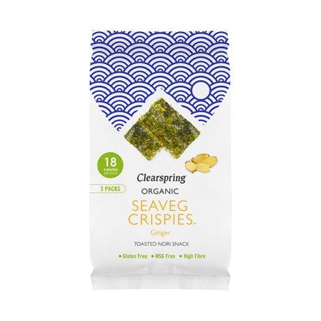 Organic Multipack Ginger Seaveg Crispies