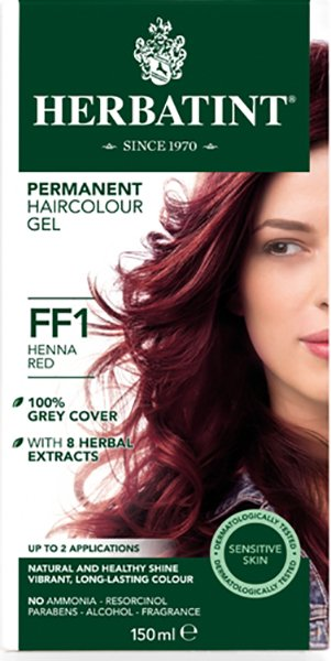 Ff1 Henna Red Hair Colour Infinity Foods Wholesale Organic