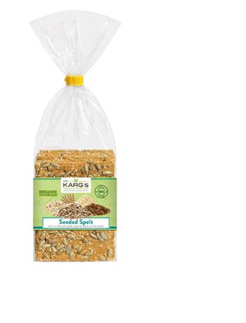 Organic Spelt Seeded Crispbread