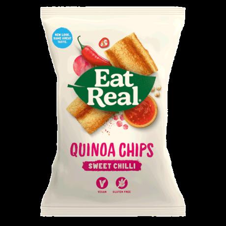 Sweet Chilli Quinoa Chips