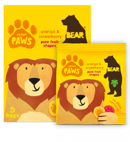 Safari Paws - mango & strawberry