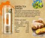 Organic Ginger Green Tea Energy Drink