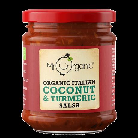 Organic Coconut & Turmeric Salsa