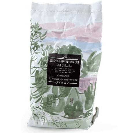 Organic Strong Plain White Flour - Traditional