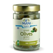 Organic Green Olives - vacuum preserved