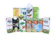Drinks - Soya, Nut and Grain Drinks, Milk & Desserts