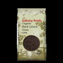 Organic Black Quinoa Grain