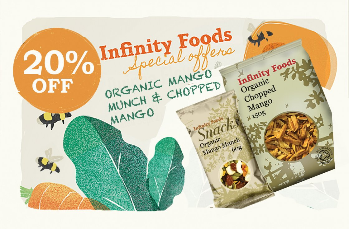 Infinity Mango products
