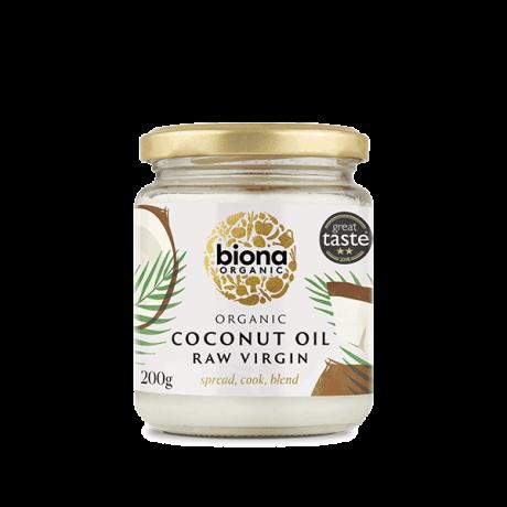 Organic Raw Virgin Coconut Oil - 200g