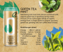 Organic Mint Green Tea Energy Drink