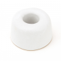 White Toothbrush Holder - Ceramic