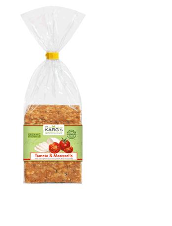Organic Tomato & Mozzarella Crispbread
