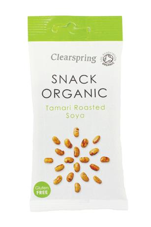 Organic Tamari Roasted Soya