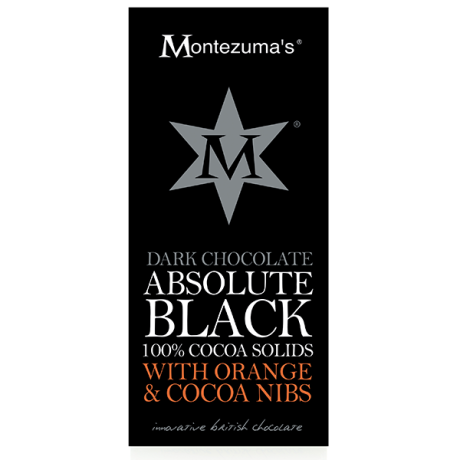 Absolute Black with Orange & Cocoa Nibs - 100%