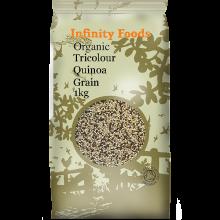 Organic Tricolour Quinoa Grain