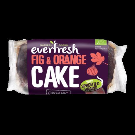 Organic Fig & Orange Cake - Sprouted