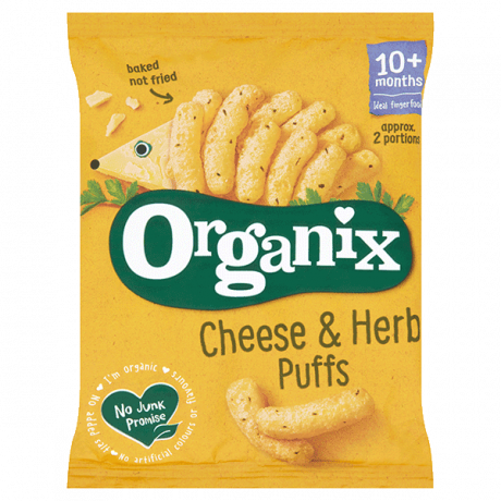 Organic Cheese & Herb Corn Puffs