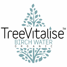Treevitalise Organic Birch Water glass