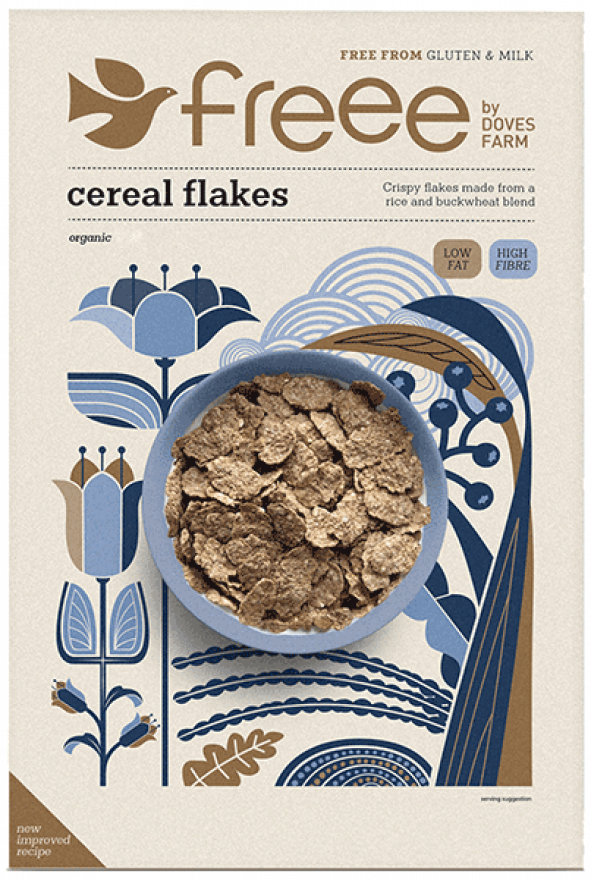 Organic Cereal Flakes - gluten-free : Infinity Foods ...