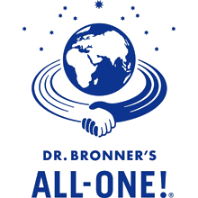 Dr Bronner 70% Organic ingredients, fluoride free, low foaming