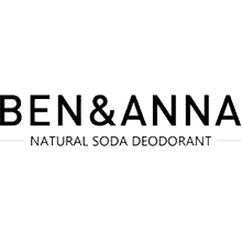 Ben and Anna organic vegan natural soda deodorants