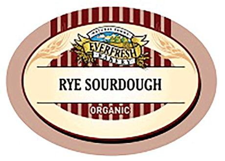 Organic Rye Sourdough Loaf
