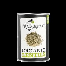 Organic Lentils - green