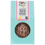 Organic Milk Choc Raspberry Squiggle Easter Egg + Buttons