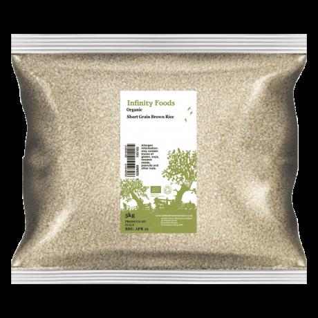 Organic Brown Rice Short Grain