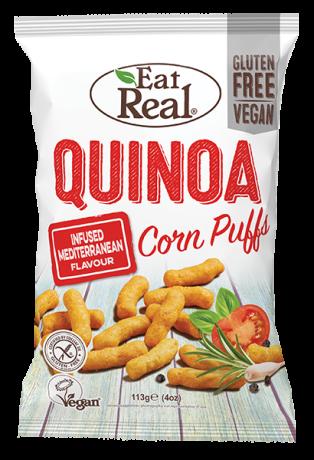 Quinoa & Puff Mediterranean