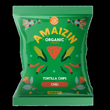 Organic Chilli Corn Chips