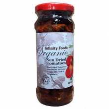 Organic Sun-dried Tomatoes in olive oil & herbs