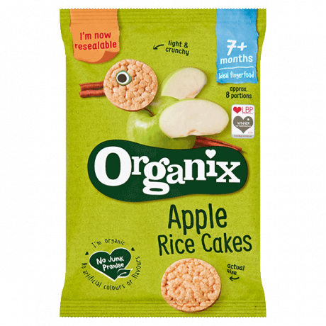 Organic Baby Rice Cakes - Apple