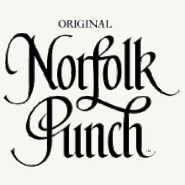 Norfolk Punch herbal tonic drink glass bottle