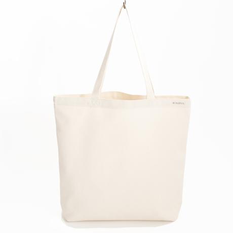 Organic Canvas shopping Bag - Natural White