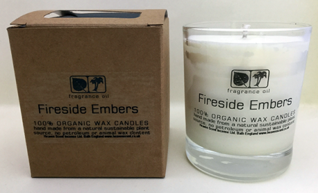 Fireside Embers 20cl Aromapot Candle - single