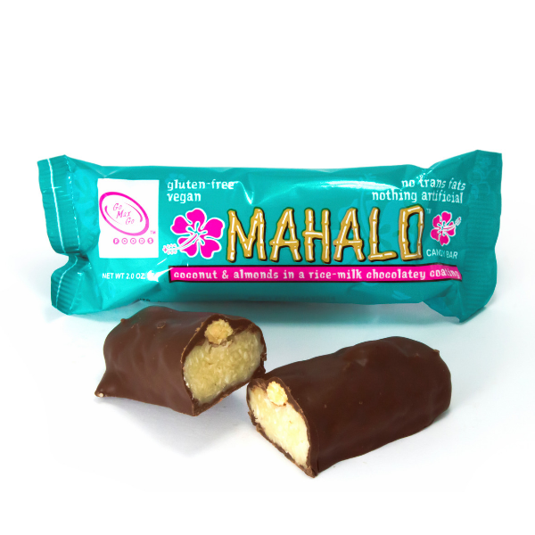 Mahalo - Coconut Almond Filled Choc Bar - gluten free