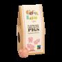 Organic Raspberry Pink Pigs - milk
