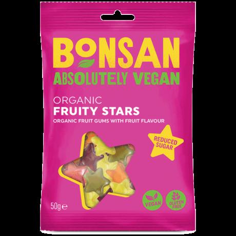 Organic Fruity Stars -  reduced sugar
