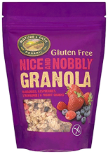 Organic Strawberry Raspberry Blueberry Granola