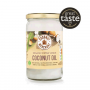 Organic Coconut Oil - raw extra virgin - glass